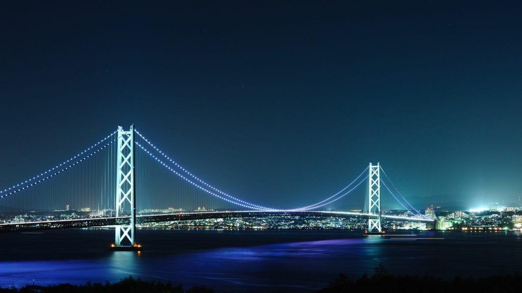 Akashi Kaikyo Köprüsü, Kobe