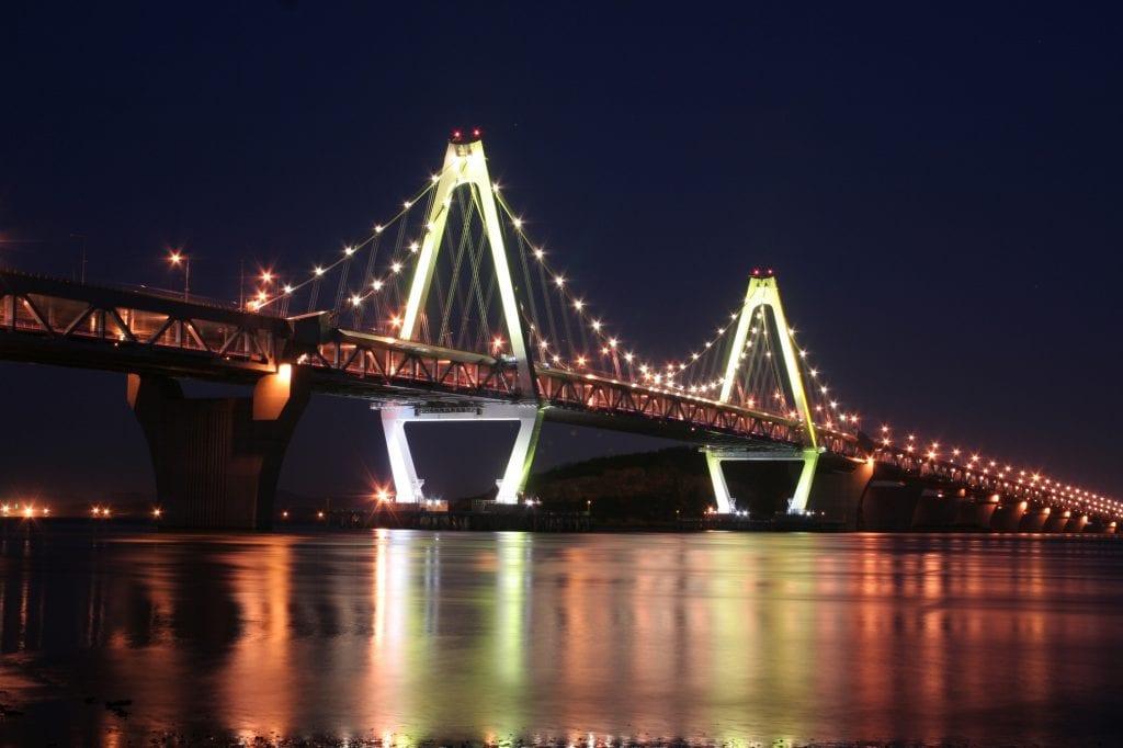 Yeongjong Grand Köprüsü, Incheon
